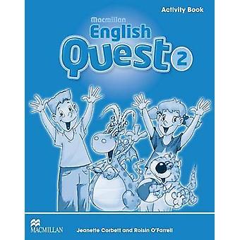 MacMillan inglês Quest atividade livro nível 2-2 por Jeanette Corbett