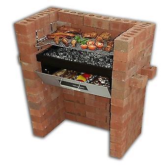 Metselwerk bouwen In BBQ Grill & bakken DIY