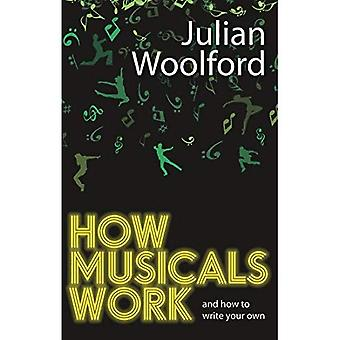 Como trabajan de musicales: Y cómo escribir tu propio (libros de Nick Hern)