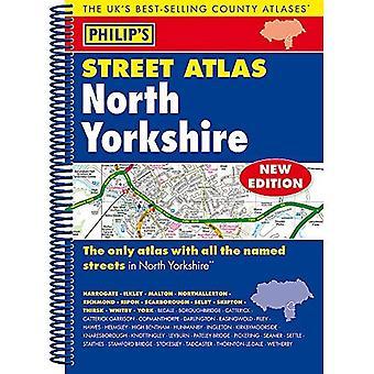 Yorkshire del norte de la calle Atlas de Philip: edición de espiral (de Felipe calle Atlas)