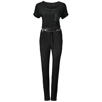 B.C.. best connections of casual ladies sequined Black Jersey jumpsuit