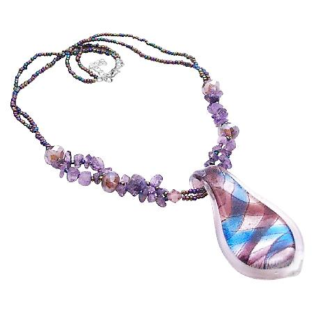 The Finest Murano Glass Pendant Necklace The Most Affordable Jewelry