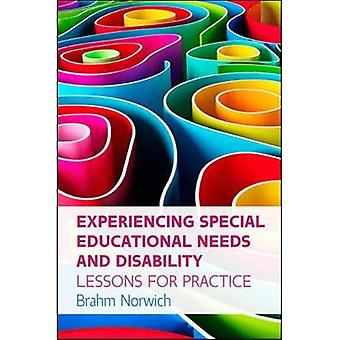 Experiencing Special Educational Needs and Disability: Lessons for Practice