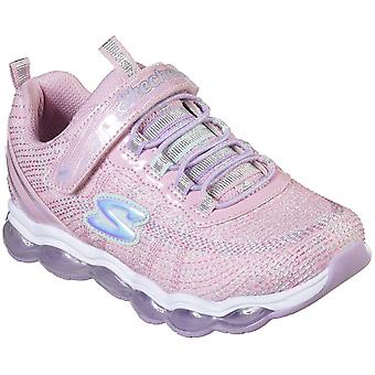 Skechers Girls Glimmer Lights Sparkle Sporty Trainers