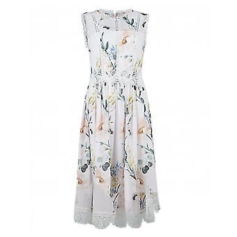 Ted Baker Elegance Print High Neck Layered Dress