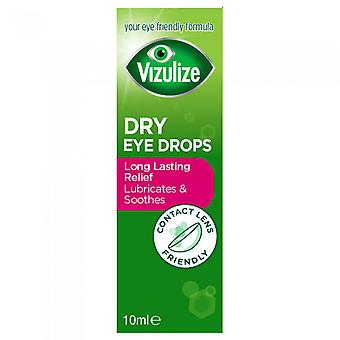 Vizulize Dry Eye Drops 10Ml