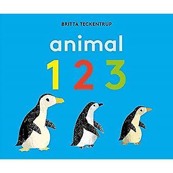 Animal 123 by Britta Teckentrup - Britta Teckentrup - 9781783707720 B