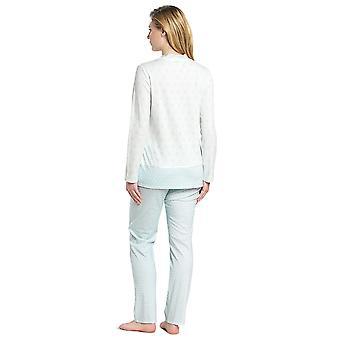 Feraud 3191102-16502 Women's High Class Soft Turquoise Cotton Pyjama Set