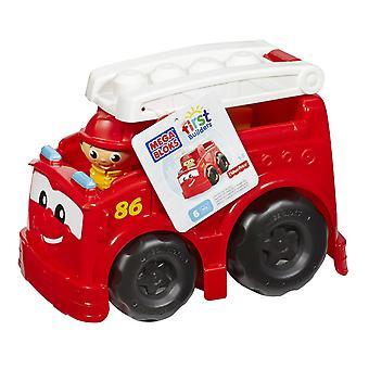 Camion de pompier Mega Bloks premier constructeurs Freddy
