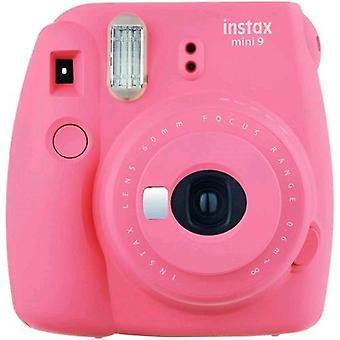 Fujifilm instax mini 9 camera with flash development pink