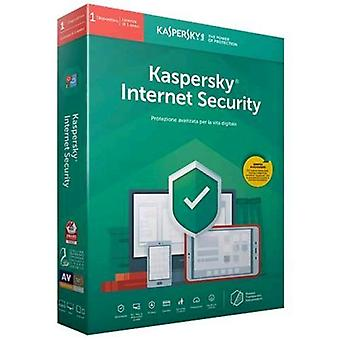 Kaspersky internet security 2019 license for 1 device for 1 year version-full (english)