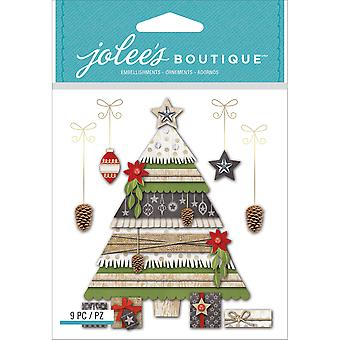 Jolee's Boutique Dimensional Stickers-Holiday Tree & Gifts E5021808