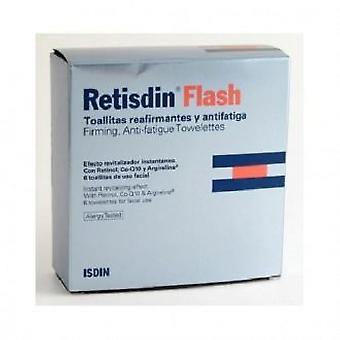 Isdin Retisdin Flash Wipes Revitalizing 6PCS (Beauty , Facial , Flash products)