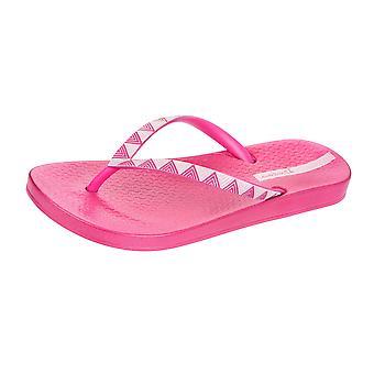 Ipanema Metallic III Womens Flip Flops / Sandals - Pink Silver