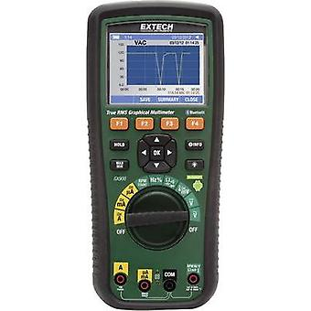 Handheld multimeter Extech GX900 Calibrated to: Manufacturer standards Graphics display