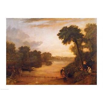 نهر التايمز قرب وندسور