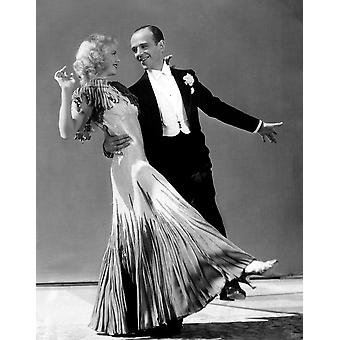 The Gay Divorcee Ginger Rogers Fred Astaire 1934 Photo Print