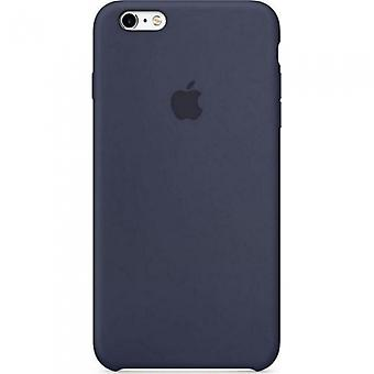 Apple silicone cover case for iPhone + 6 plus 6 S + plus - midnight blue