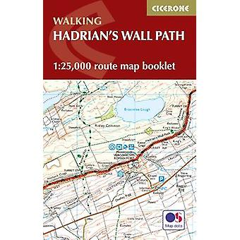 Hadrians Wall Path Map Booklet by Mark Richards