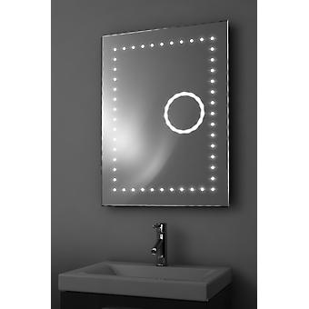 Eclipse 3X Magnification Bathroom Mirror With Demister & Sensor k99