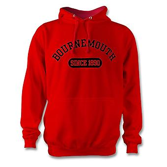 Bournemouth 1890 Established Football Hoodie