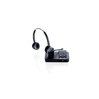 Jabra Pro 9450 Duo Wireless Headset, Dect 1.8/Us Dect 6.0, Uc, Black
