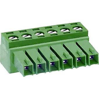 Socket enclosure - cable MC Total number of pins 10 DECA 1307097 Contact spacing: 3.81 mm 1 pc(s)