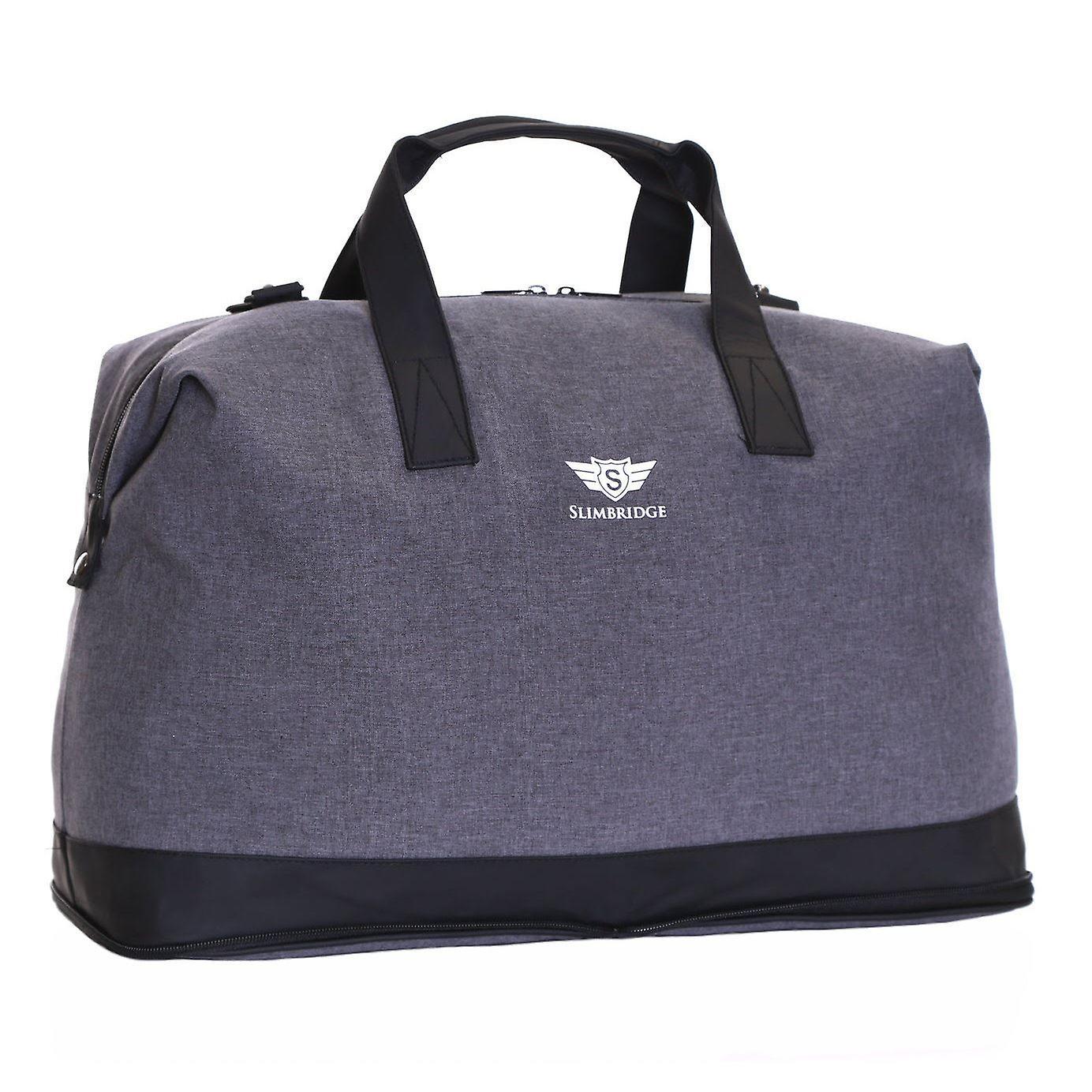 Slimbridge Tuzla Folding Cabin Bag, Grey