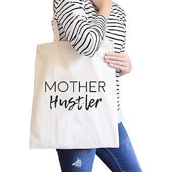 Ideas de regalos de madre Hustler Natural lona lindo bolso gran madres día