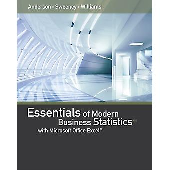 Essentials of Modern Business Statistics with Microsoft Excel (Hardcover) by Anderson David Williams Thomas Sweeney Dennis