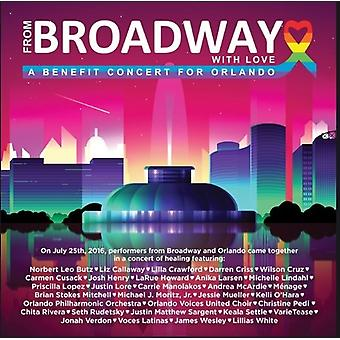 From Broadway with Love-Benefit Concert for Orland [Blu-ray] USA import