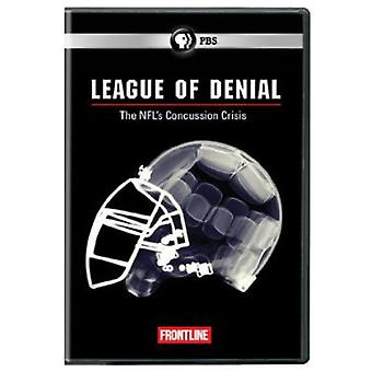 Frontline - Frontline: League of Denial: The NFL's Concussion [DVD] USA import