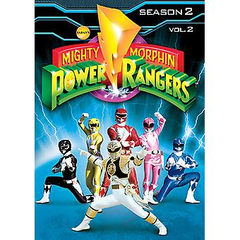 Mighty Morphin Power Rangers Vol. 2-saison 2 [DVD] USA import