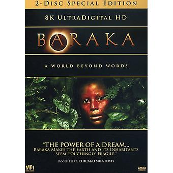 Baraka [DVD] USA import