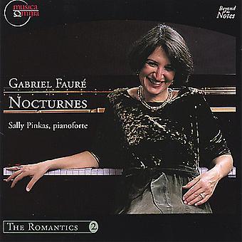 Sally Pinkas - Gabriel Faur: Nocturnes [CD] USA import