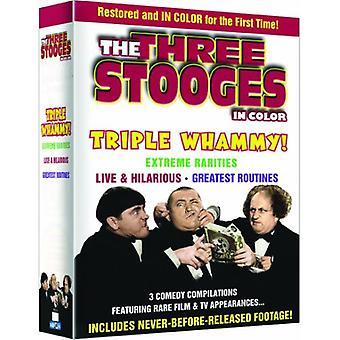 Tre Stooges-Triple Whammy [DVD] USA import