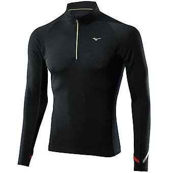 Mizuno Men Breath Thermo 1-2 Zip Laufshirt - 67SP35109