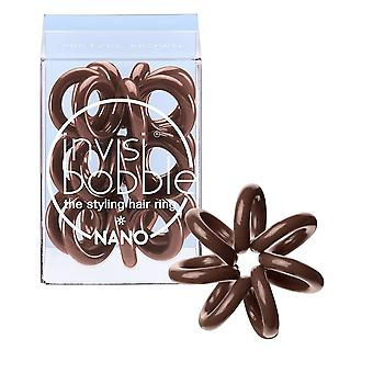 Invisibobble Invisibobble Nano hår Ring - kringle Brown