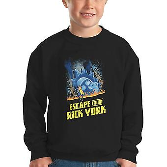 Escape RY Rick and Morty Kid's Sweatshirt