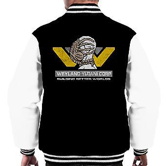 Weyland Yutani Corp Building Better Worlds Alien Men's Varsity Jacket