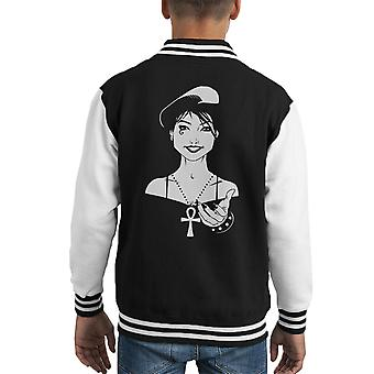 Endless Death Come With Me Kid's Varsity Jacket