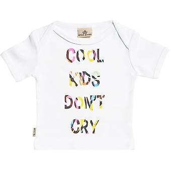 Spoilt Rotten Cool Kid's Don't Cry Short Sleeve Baby T-Shirt