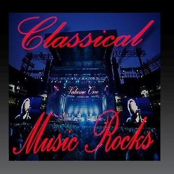 Olika Artist - klassisk musik Rocks volym 1 [CD] USA import