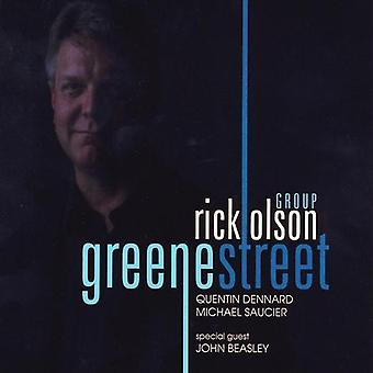 Rick Olson gruppe - Greene Street [DVD] USA import