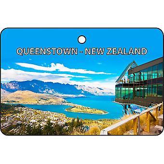 Queenstown - New Zealand Car Air Freshener