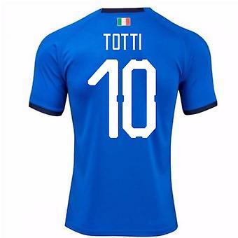 2018-19 Italien hem skjorta (Totti 10)