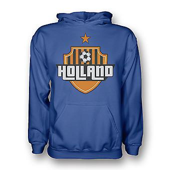 Holland Land Logo Hoody (blau)