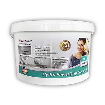 Deep reason PROF HOME 300-23 hydro power grip gel special primer with gel structure for indoor and outdoor ELF | 10 L for Max 66 sqm