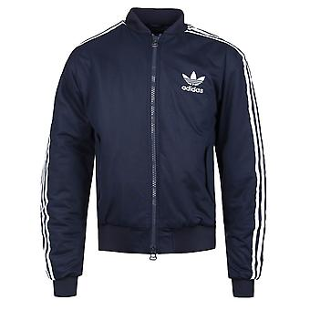 Adidas Originals MA1 Padded Ink Blue Three Stripe Jacket