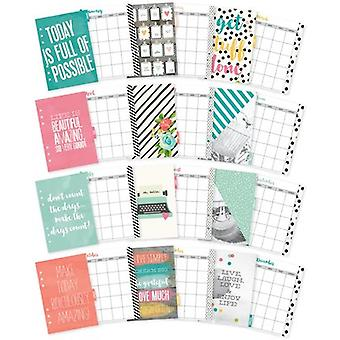 Planner Essentials Double-Sided A5 Inserts-Monthly PE8934